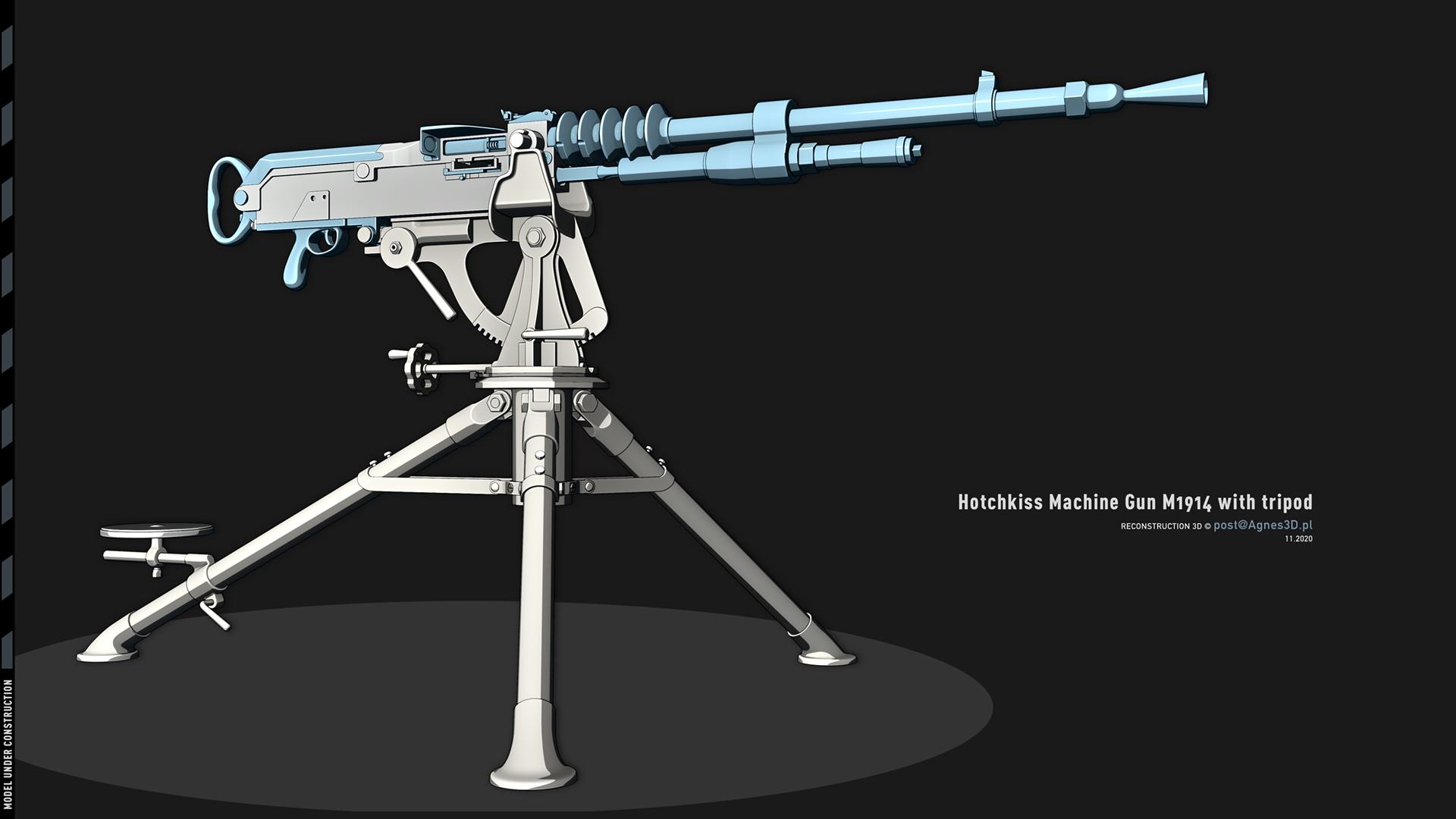 Hotchkiss Machine Gun M1914