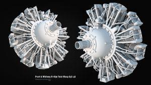 Pratt&Whitney R-1830 Twin Wasp S3C 4G