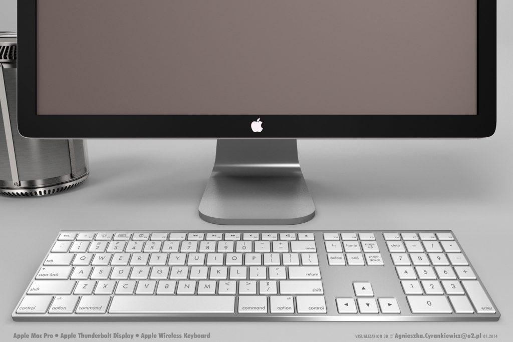 Mac Pro, 3D, model, render