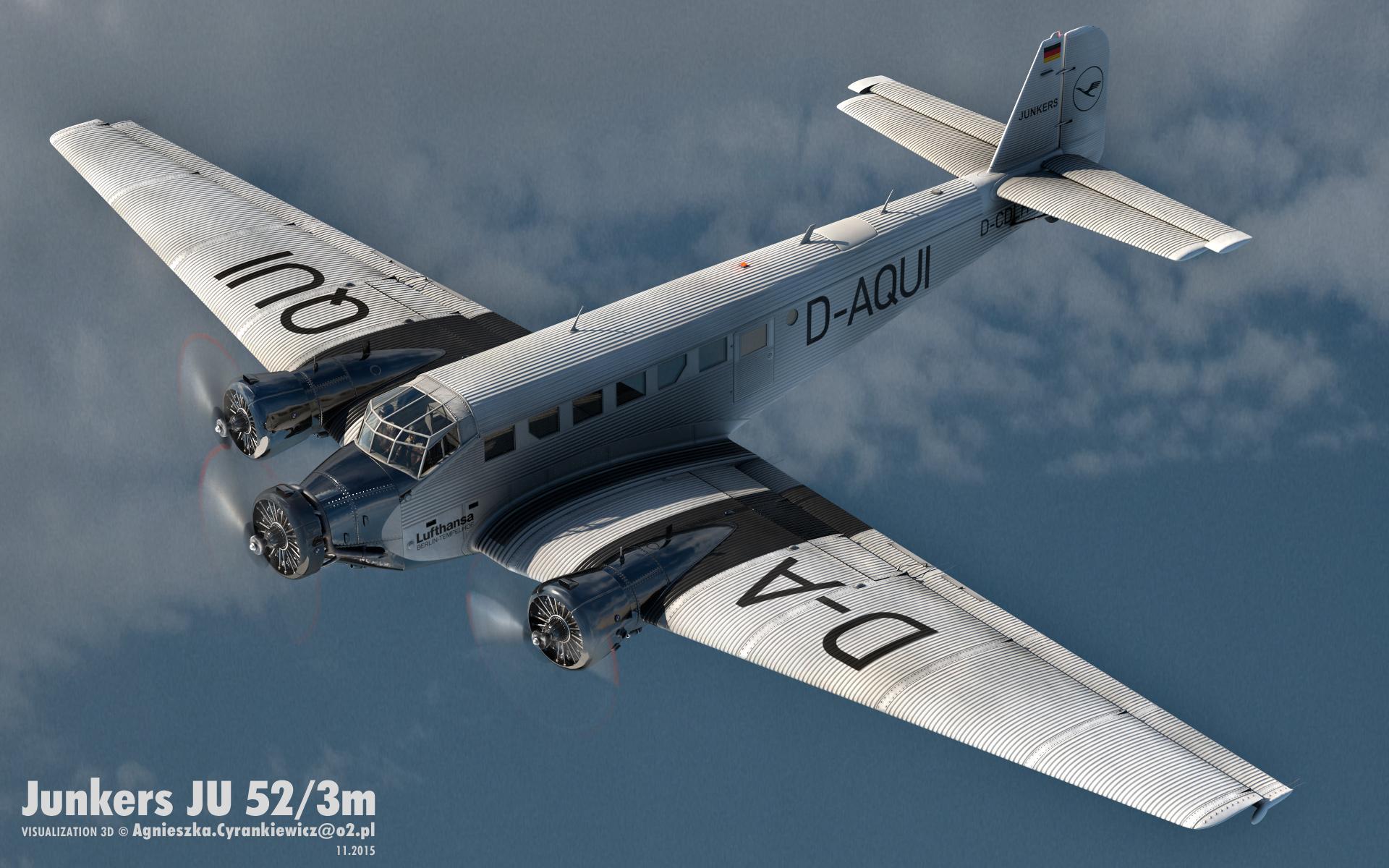 Junkers JU52/3m, Tante JU