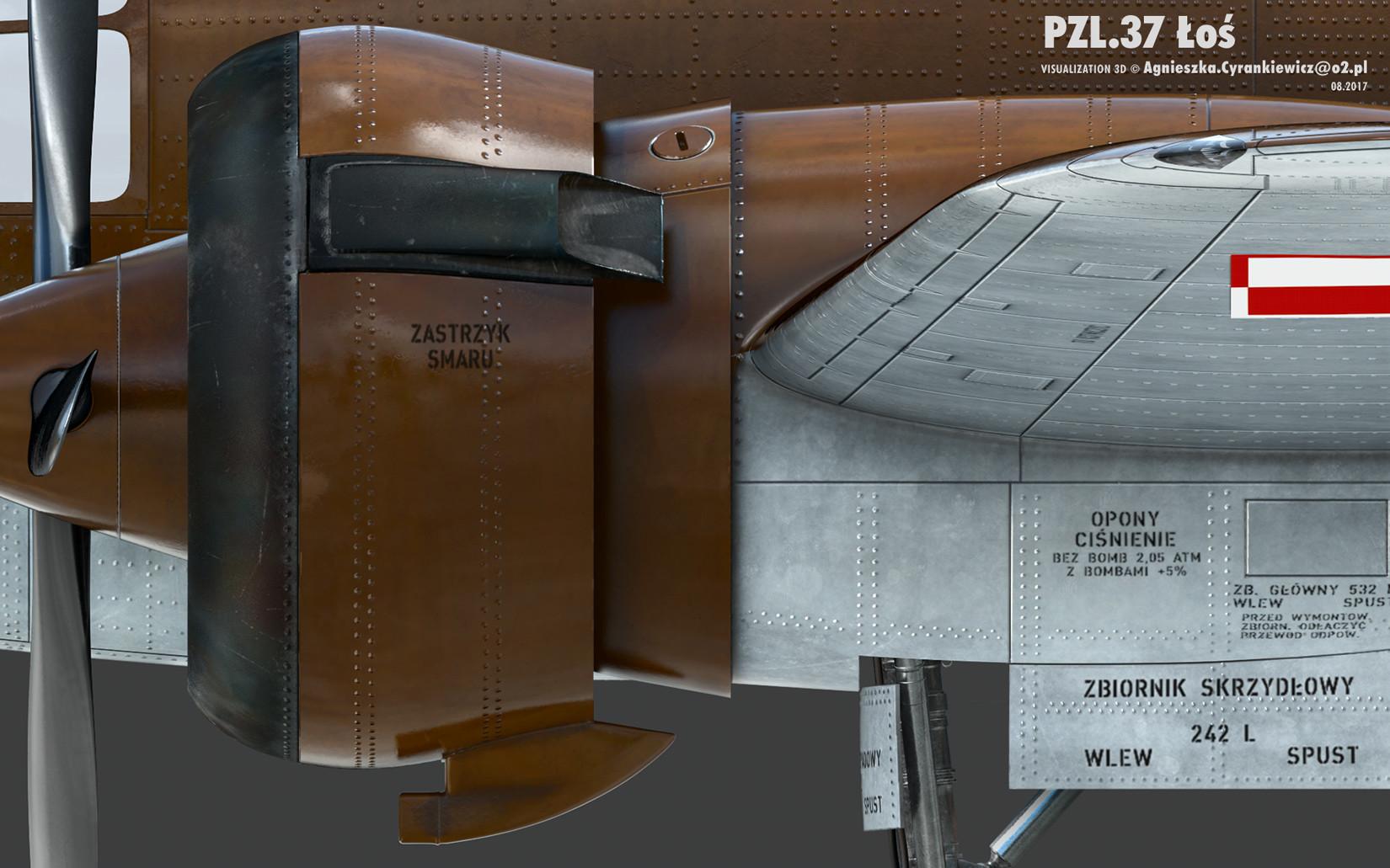 PZL 37B II, Łoś, Polskie Zakłady Lotnicze, PZL37BII